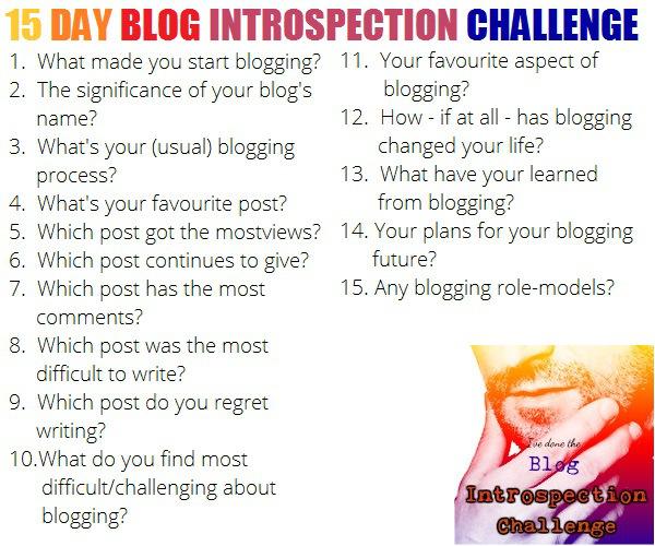 Blog Challenge Questions Blog-intro-challenge